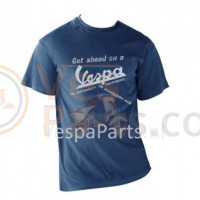 Vespa T-Shirt heren Get Ahead