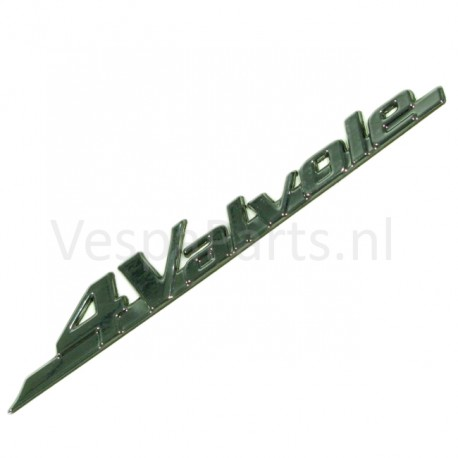 07: Embleem 4 Valvole Vespa LX/LXV
