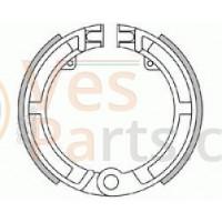 Remsegmenten voor per stel Vespa PK50 / Ape