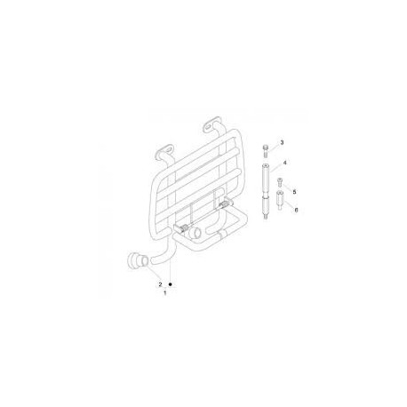 06: Sub-Framebus montage v drager Vespa LX/S/LXV