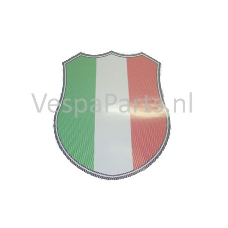 Windschermsticker Vespa scooter Italie