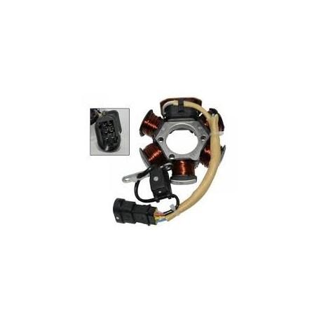 Complete ontsteking (stator) 2 takt Vespa scooter LX/LXV/S