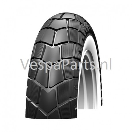 Scooter Buitenband 110/70x11 Schwalbe whitewall