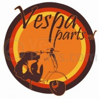 Balhoofdstel Vespa PK 50 compleet