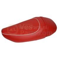 Buddyseat Mono Leder zadel Vespa LX/S rood