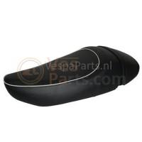 Buddyseat Mono Leder zadel Vespa LX/S zwart