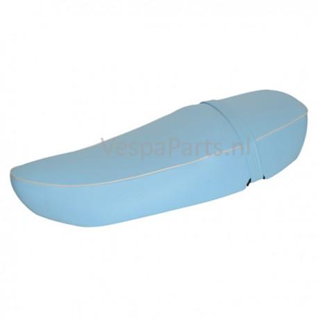 Buddyseat DUO Leder zadel Vespa LX/LXV/S blauw