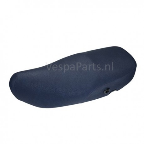 Buddyseat DUO Lederen zadel Vespa LX/LXV/S blauw