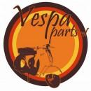 Voorvork beschermer zwart Vespa PK 50