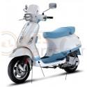 Vespa scooter Stickerset College blauw