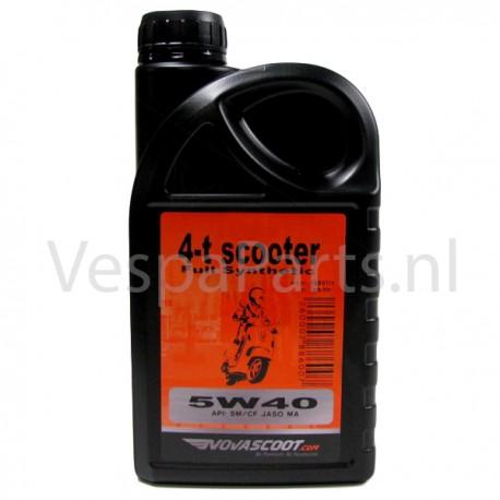 Novascoot Motorolie 4T 5W-40 (vol-synth) 1L