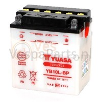 Yuasa YB10L-BP droge Accu 12V 12Ah Vespa GT/GTV/GTS