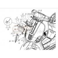 22: Koplamp Pakkingsring Vespa S