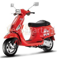 Vespa Stickerset UK Engelse vlag