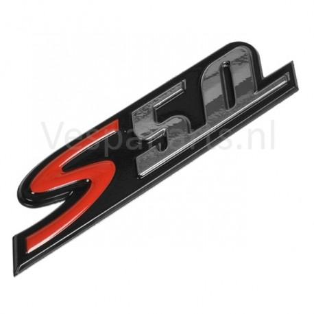 "03: Embleem ""S50"" Vespa S"