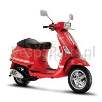 Vespa scooter Stickerset sport Wit
