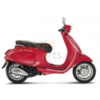 Vespa Sprint rood Dragon