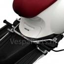 Voetsteunen duo passagier Vespa Primavera/Sprint chroom