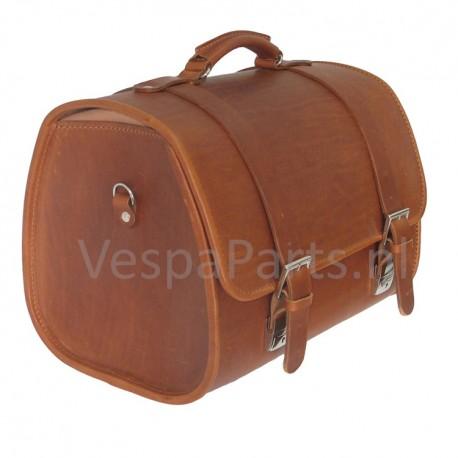 Bagagetas Vespa Vintage bruin (leder)