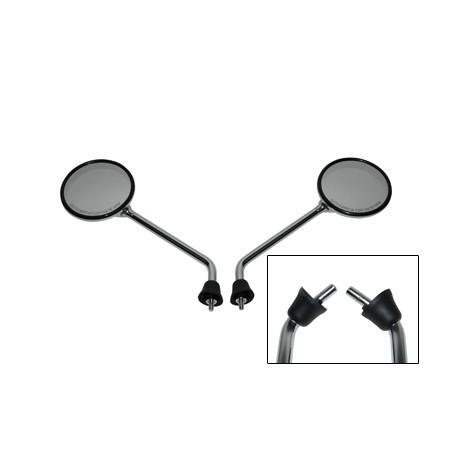 Spiegelset rond Vespa LX/S origineel 2010 zonderdraad