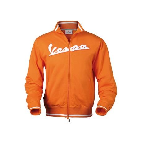 Vest Vespa man oranje