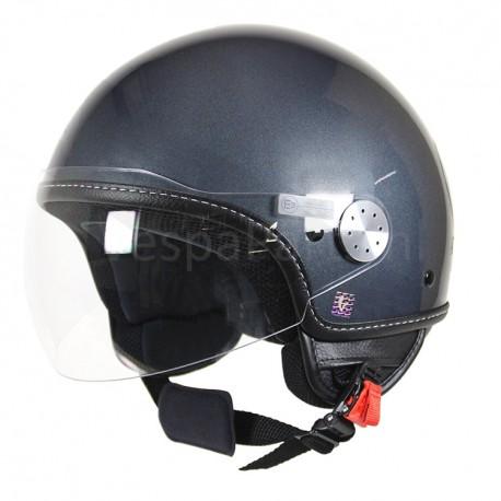 "Vespa Helm ""Visor 2.0"" grijs Dolomiti 770/B"