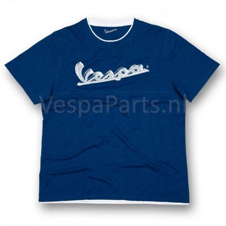 Vespa T-Shirt original heren Blauw
