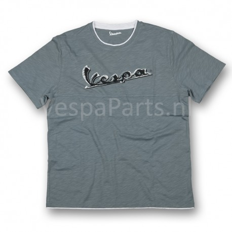 Vespa T-Shirt original heren Grijs