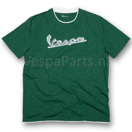Vespa T-Shirt original heren Groen