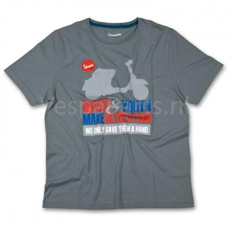 Vespa T-Shirt limited Music