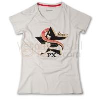 Vespa T-Shirt limited Star (licht grijs)
