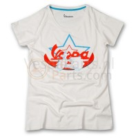 Vespa T-Shirt limited Star (wit)