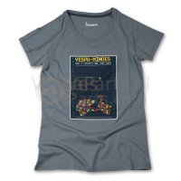 Vespa T-Shirt limited Minoes (donkergrijs)