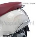 Valbeugel achter origineel Vespa Primavera/Sprint chroom