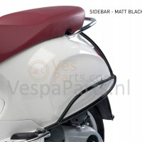 Valbeugel achter origineel Vespa Primavera/Sprint/Elettrica mat zwart