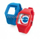 Vespa Horloge cambio Target rood/blauw