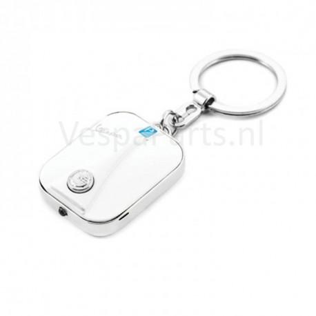 Sleutelhanger Vespa Front LED wit