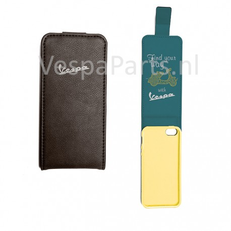 Vespa iPhone 5 Cover / Hoesje FIND YOUR WAY