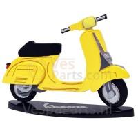 Miniaturen Vespa 2D Vespa V50S (geel)