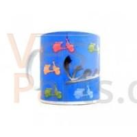 Mok Blauw Vespa PX