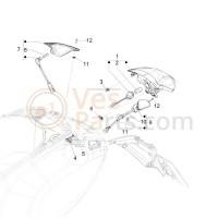 09. Knipperlicht linksachter Vespa Primavera/Sprint
