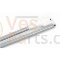 Kilometerteller kabel PK50/125 compleet grijs