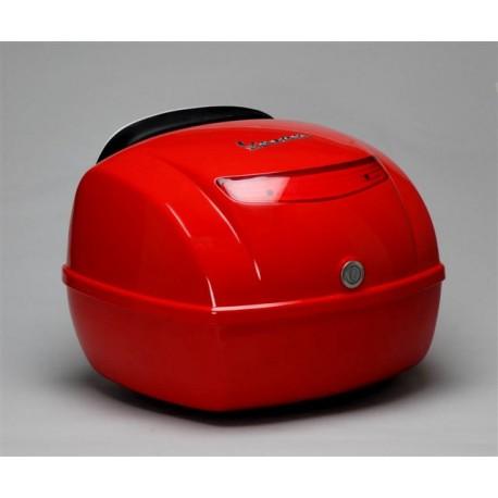 Top koffer vespa S rood/zwart/wit