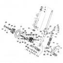14. Complete Voorschokbreker Vespa Primavera/Sprint