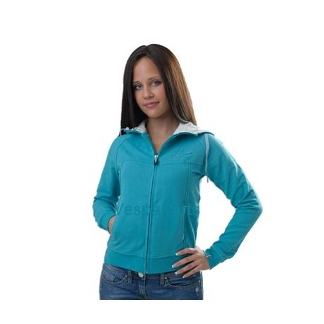 """Vest """"Cappuccio"""" dames (blauw, grijs, roze, groen)"""