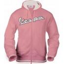 Vest Capuchon dames (roze)