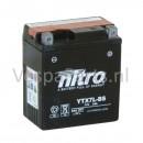 Nitro YTX7L-BS onderhoudsvrije Accu 12V 6Ah Vespa origineel