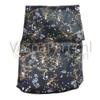 Zadelhoes Buddydek Vespa ET/LX/LXV/S Flower zwart