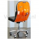 Bureaustoel Vespa oranje