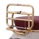 Achterdrager opklapbaar Vespa Primavera/Sprint goud